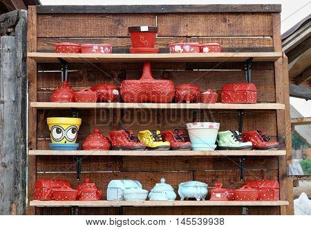 Ceramics Souvenir of Zlakusa, Serbia