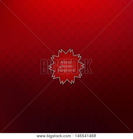 Abstract decoration backdrop. Colorful geometrical background. Graphic design. Vector illustration.