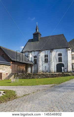 Monastery Reichenstein In Monschau, Germany