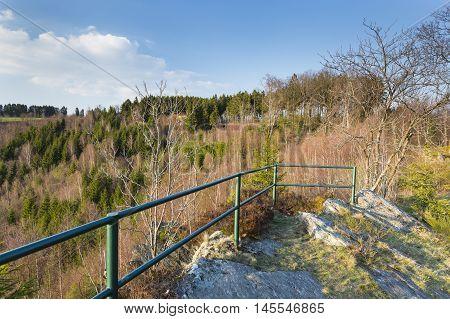 Eifel Observation Point Near Monschau, Germany
