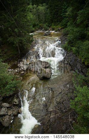 Fallbach Water Fall, Carinthia, Austria
