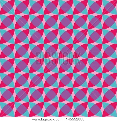 Op Art background, Seamless geometric pattern, bright colors