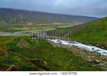 Landscape In East Iceland