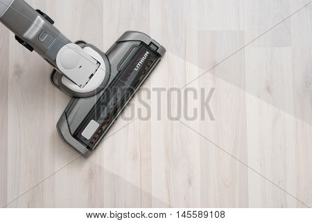 Vacuum Cleaner On The Floor Showing