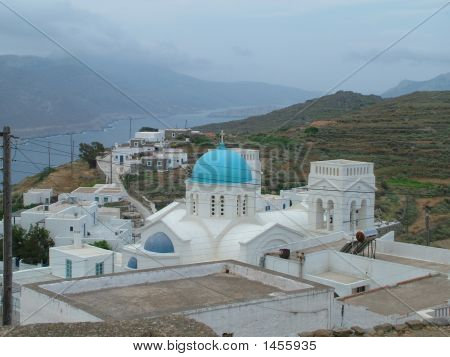 View Of Island Of Amorgos