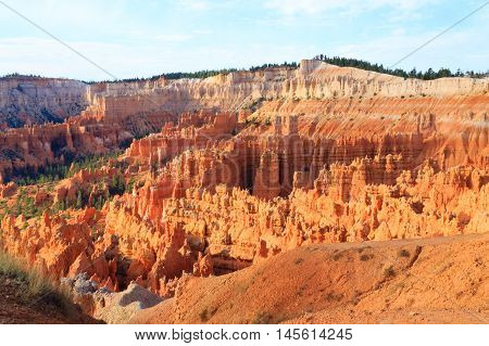 Panorama From Bryce Canyon National Park, Usa