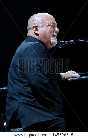 CHICAGO-AUG 26: Singer Billy Joel performs onstage at Wrigley Field on August 26, 2016 in Chicago, Illinois.