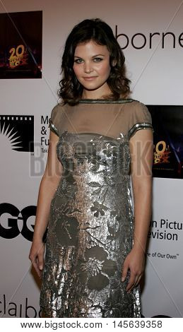 Ginnifer Goodwin at the Los Angeles screening of 'Walk The Line' held at the Academy of Motion Picture Arts & Sciences in Beverly Hills, USA on November 10, 2005.