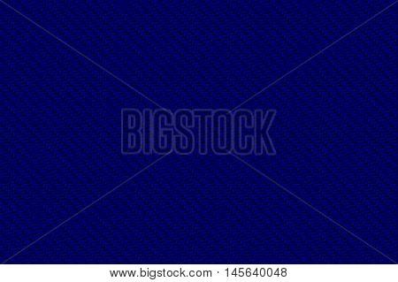 blue carbon fiber background and texture for material design. 3d illustration.