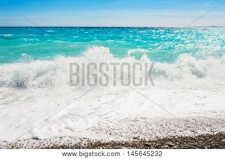 Beautiful Sea With Turquoise Water