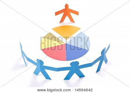 Discussing, Meeting Or Negotiation Concept