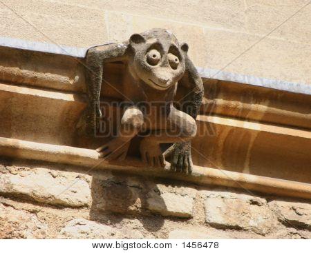 Geschnitzte Monkey Oxford