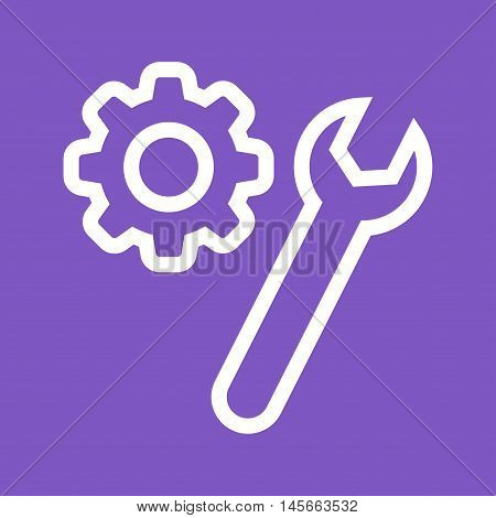 Service, preferences, tools icon vector image. Can also be used for web. Suitable for mobile apps, web apps and print media.