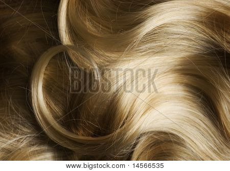 Healthy Blond Hair