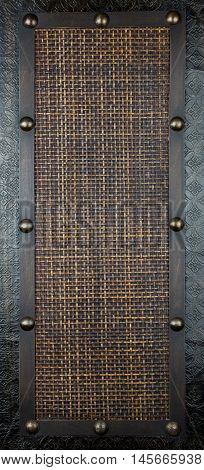 South east asian rattan screen panel from Malaysia