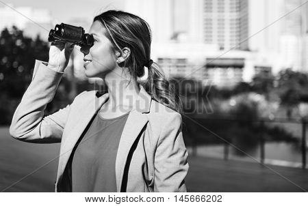 Binocular Vision Observe Solution Finding Concept