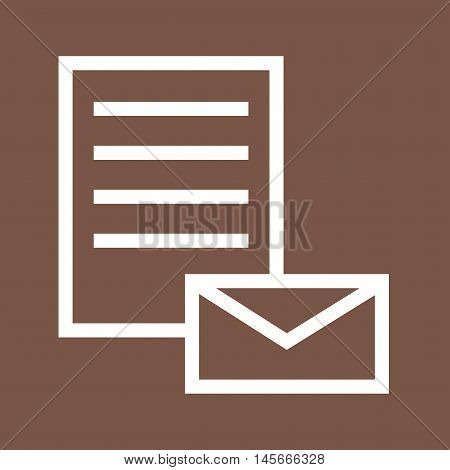 Email, message, inbox icon vector image. Can also be used for web. Suitable for mobile apps, web apps and print media.