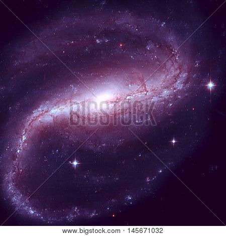 Ngc 7479 Is A Barred Spiral Galaxy In The Constellation Pegasus.