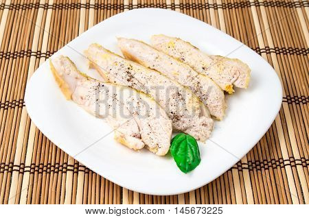 Baked Chicken Sprinkled With Spices