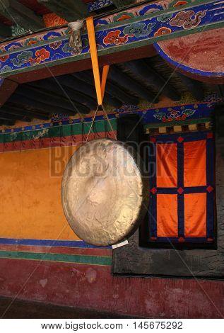 Tibetan religious attribute in Jokhang Temple, Lhasa