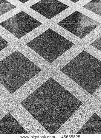 Marble or granite floor slabs for outside pavement flooring. Natural gray pavement stone texture for floor wall or path. Traditional fence court backyard or road paving.