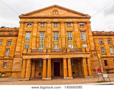 Staatstheather (national Theatre), Stuttgart Hdr