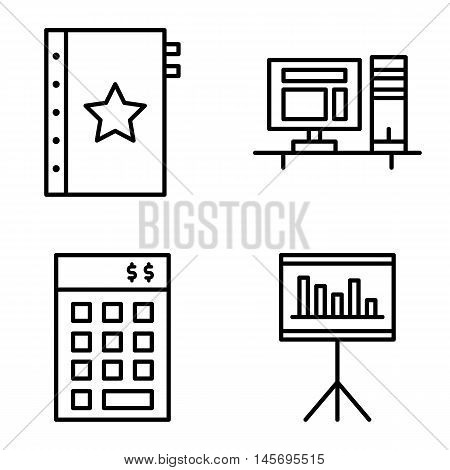 Set Of Project Management Icons On Investment, Quality Management And Statistics. Project Management