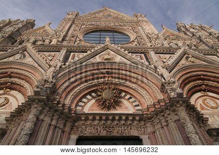 Photo Of Siena In Italy In Tuscany