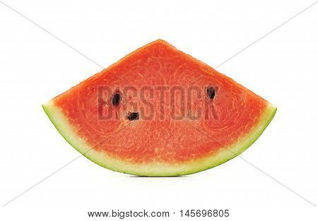 water melon isolated on white background .