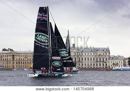 Extreme Sailing Series In Saint-petersburg