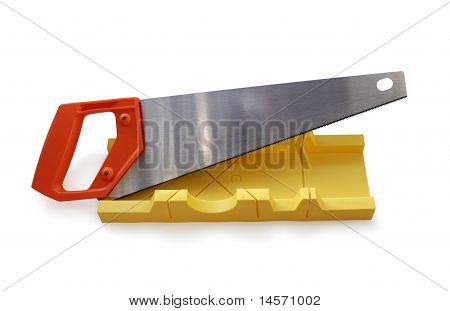 Miter-Box and Saw
