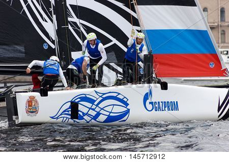 Extreme Sailing Series In Saint-petersburg