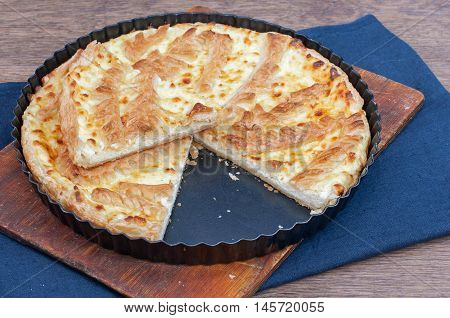 Flaky Cottage Cheese Pie Crust