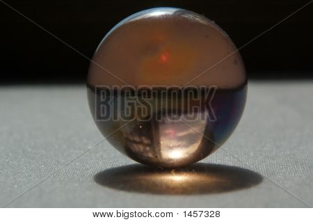 The Ball And Sky Reflection