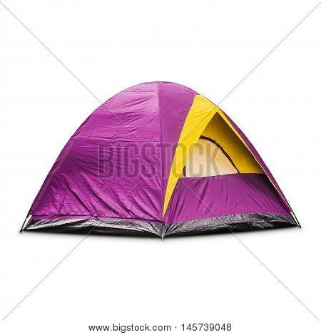 Purple Dome Tent