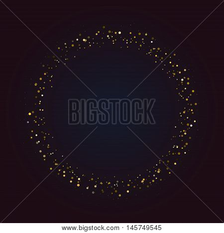 Dark universe ring of asteroids or stars, can be used as frame