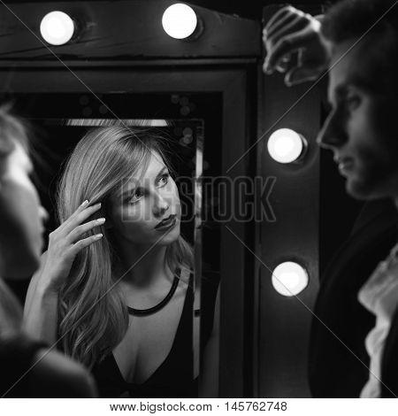 Man Picking Up An Actress