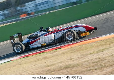 Vallelunga, Rome, Italy. September 4Th 2016. F2 Italian Trophy Race One
