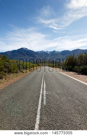 The Road To The Swartberg Nature Reserve