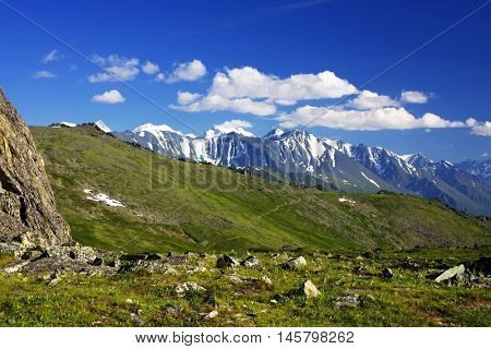 Altai Mountains Natural Park - UNESCO Natural Monument, Siberia, Russian Federation