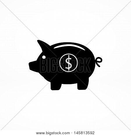 Piggy Bank - Saving Money Icon