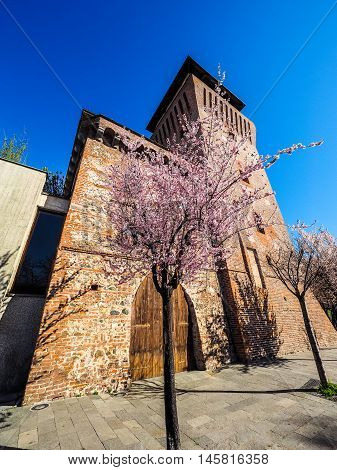 Tower Of Settimo In Settimo Torinese Hdr