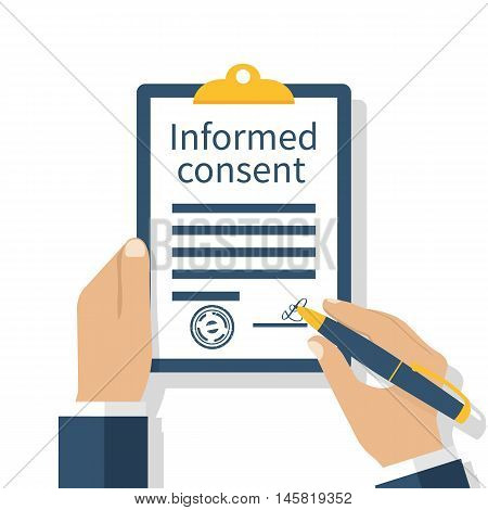 Information Consent Vector