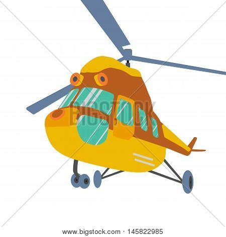 Helicopters fly air transportation and sky rotor helicopters.