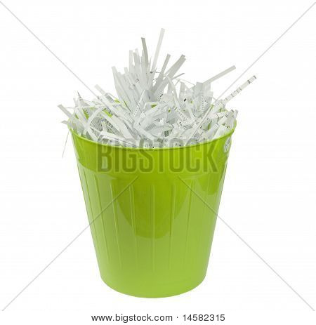 green waste basket