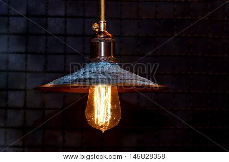 Grunge Interior Lighting Decoration