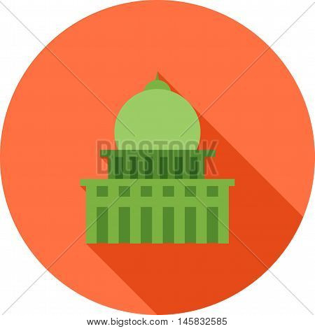Building, office, architecture icon vector image. Can also be used for elections. Suitable for mobile apps, web apps and print media.