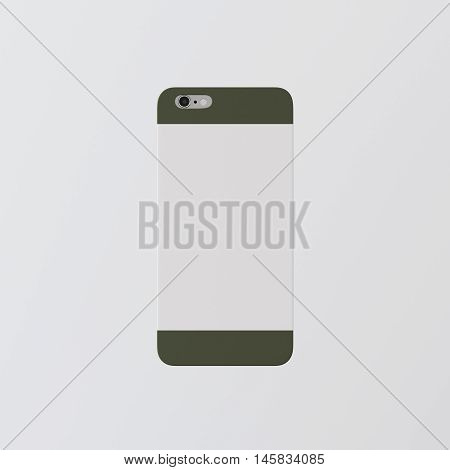 Closeup One Blank White Clean Template Cover Phone Case Smartphone Mockup.Generic Design Mobile Back Isolated Empty Background.Ready Corporate Logo Message.3d rendering