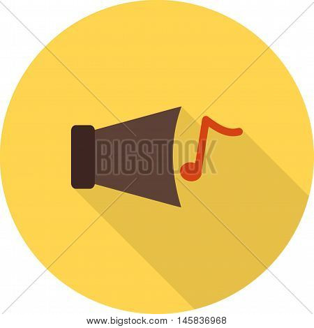 Sound, audio, voice icon vector image.Can also be used for celebrations. Suitable for mobile apps, web apps and print media.