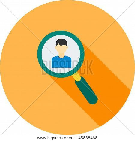 Find, people, users icon vector image. Can also be used for finances trade. Suitable for use on web apps, mobile apps and print media.